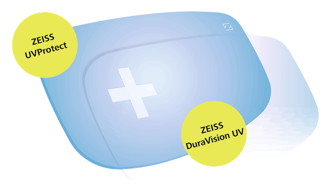 LENTI ZEISS DURAVISION UV PROTECT